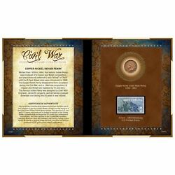 New American Coin Treasures Civil War Penny And Stamp Collection 11865