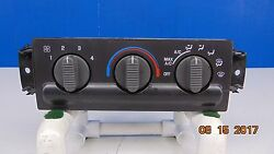 2002 2004 Chevrolet S10 Heater AC Temperature Climate Control 15849777 NICE OEM