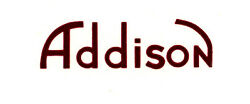 Red Addison Catalin Radio Decal Also For Bakelite And Wood Sets