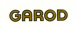 Garod Catalin Radio Decal Also For Bakelite And Wood Sets