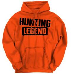 Deer Hunting Legend Funny Shirt Cool Gift Idea Buck Gun Gift Hoodie