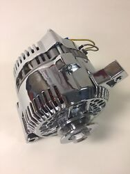 New 3g Chrome 160 Amp Alternator 1 One Wire Fits Ford 65-85 Replace Small Case