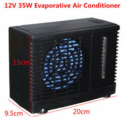 35W 12V Auto Car Truck Cooler Cooling Fan Water Ice Evaporative Air Conditioner
