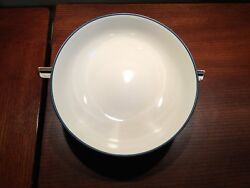 Rare Noritake Colorwave Blue Round Vegetable Serving Bowl Approx 9.50 X 2.75