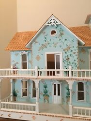 12-1 Lady Kathleen Victorian Mansion Doll House With Addition By Celerity