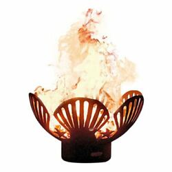 Barefoot Beach Match Lit Fire Pit With Brass Burner - Lp