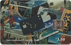 Tk 5 Phonecard Alaska 3.50 Collage Of Chip And Stored Value Phone Cards