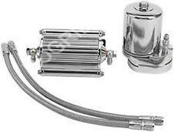 Feuling 2001 Oil Filter Cooling System Chrome 1999 - 2014 Harley Dyna Fxd