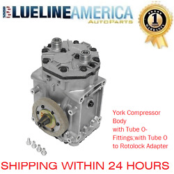 NEW AC YORK COMPRESSOR  0020 FIT 117841C91 VW Dasher  Jeep J-4700  J10 CJ6 CJ5