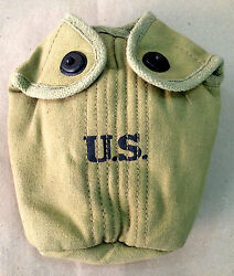 U.S. WWII Canteen Cover Case Reproduction