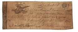 Early Bank Of Augusta Georgia Counterfeit Note 1823
