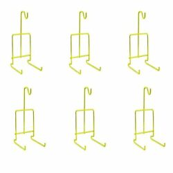 Tea Cup And Saucer Display Stand Rack Easels Gold 24pc