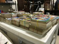 Over 3,700 Baseball Cards From The 1950's - 1990's.