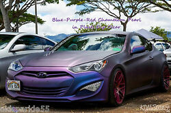 Blue-Purple-Red Chameleon Pigment Pearl add 2 Plasti Dip Clear Glossifier Kit