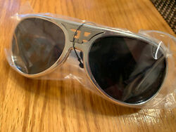 ELVIS Presley Licensed CLASSIC TCB THE KING Sunglasses SILVER NWT $49.99