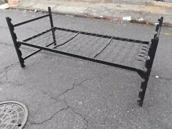 Lot of Used Dorm Furniture Metal Bunk Beds 200 Beds Available