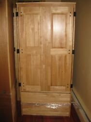 Lot of Used Dorm Furniture Solid Wooden Armoires Wardrobes Heavy Duty