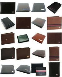 Tommy Hilfiger Mens Leather Designer Bifold Wallets Assorted Wholesale From $200