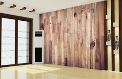 3D Retro Wood Board 8 Wall Paper Murals Wall Print Wall Wallpaper Mural AU Lemon