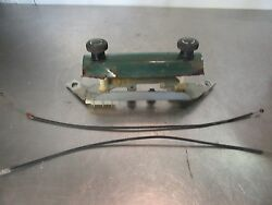 69 VW Bug Beetle Dash Knobs Heater Controls Cables OEM