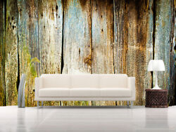 3D Retro Wood Board 9 Wall Paper Murals Wall Print Wall Wallpaper M