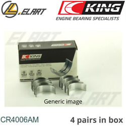 King Big End Con Rod Bearings Cr4006am Std For Renault 2.1-2.2 D-benzine