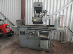 Ger Rs-750 5.5hp 1500-3k Rpm Surface Grinder W/34x 11 Mag Chuck And Rectifier