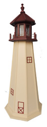 Poly Outdoor Lighthouses Cape May NJ  Optional Lighting  Yard Garden Landscape