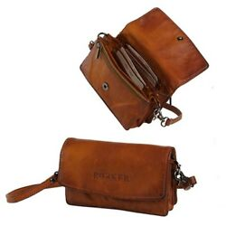 Rokker Lady Wallet Cognac Cool Women's Bag from Leather with many compartments