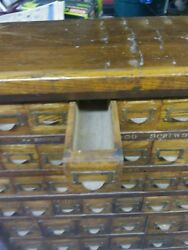 Antique Tool Storage Box 1900s From Ludens Candy Factory