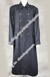 We Make Doctor Cosplay Who The Captain Jack Harkness Film Costume Grey Wool Coat