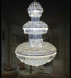New Modern Led K9 Clear Crystal Chandelier Ceiling Light Stairs Lighting 6960