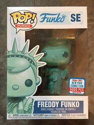 Nycc 2017 Exclusive Funko Pop Freddy Funko Statue Of Liberty Limited To 6,000