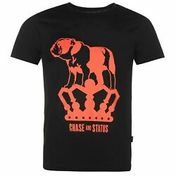 Official Mens Chase and Status T Shirt Graphic Casual Short Sleeve Crew Neck Tee