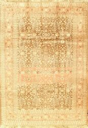Pasargad Ny Semi-antique Turkish Herati Design Hand-knotted Rug - 5and03910 X 8and0392
