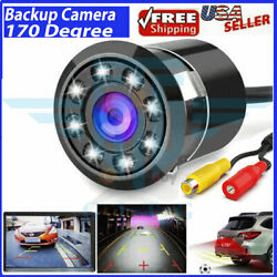 170° CMOS Car Rear View Backup Camera Reverse 8 LED Night Vision Waterproof NEW $10.39