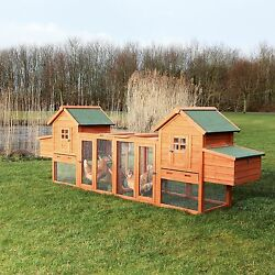 Backyard Chicken Coops and Runs Large Outdoor Safety Comfort Eggs Nesting Sleep