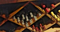 """Thomas Arvid """"bin There"""" Wine Art 51/195 Signed And Numbered Canvas 43x 23.25"""