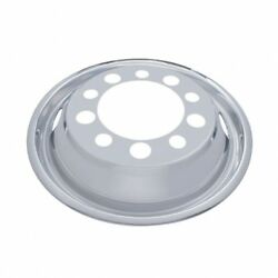 22 12 O.d. Stainless Front Wheel Cover Only - 2 Vent Hole, Stud Piloted