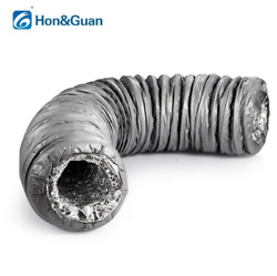 """4""""6"""" Silencer Noise Reducer Duct Hose Flexible Pipe Ventilation Air Tub 4Ft"""