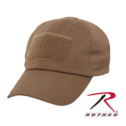 KHAKI ROTHCO ARMY  TACTICAL OPERATORS CAP OPS  HAT ONE SIZE FITS ALL  ADJUSTABLE $9.59