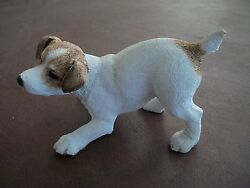 Rare Jack Russell Terrier PUPPY # 02769 dog figurine  SO CUTE