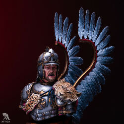 Polish Winged Hussar Painted Toy Soldier Miniature Bust Pre-sale | Museum