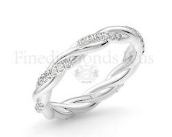 0.30carat Round Brilliant Cut Diamonds Full Eternity Ring Available In 18k Gold