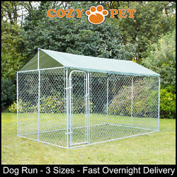 Dog Run By Cozy Pet Chicken Runs Poultry Whelping Pen Puppy Exercise Enclosure