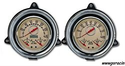 New Vintage Usa Direct Fit Gauge Package,fits 1954 Chevrolet Truck,speedo,tach,