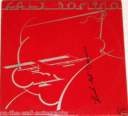 Fats Domino Rock Blues Legend Hand Signed Autographed Album With C.o.a.