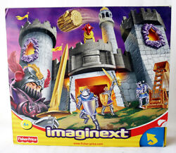 Very Rare 2002 Fisher Price Imaginext Medieval Castle Knights New Sealed Misb