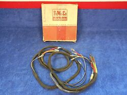 1956 Ford Station Wagon Tailgate Power Window Wiring Nos Ford 816