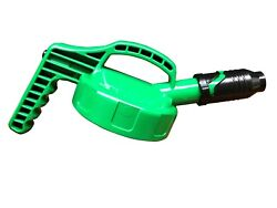 Oil Safe Stumpy Spout Lid W/ 1 In Outlet - Green 100507